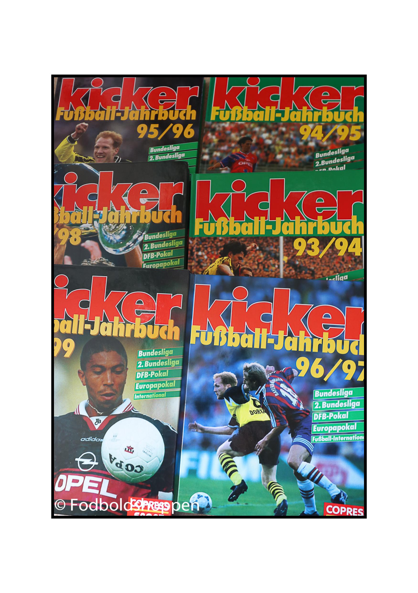 Kicker Fussball Jahrbuch