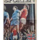 Berlingske tillæg - Engelsk Fodbold i TV - 21/11-1981