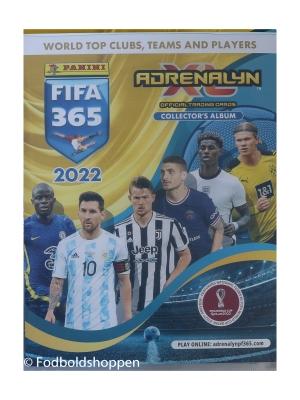Samlealbum – FIFA 365 2022 – 281 kort i mappen