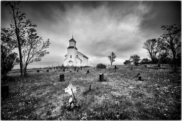 Gimsoy kirke © Andre Van den Bossche