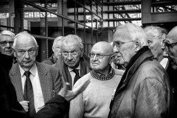 Luister naar de gids © Jackie De Clercq