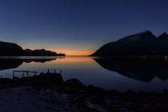 Fjord bij avondlicht © Steven Warmoes