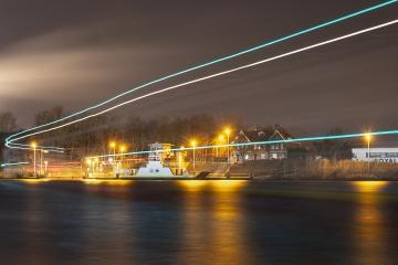 Night boat to .... © Patrick Haegens