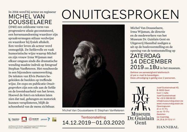 ONUITGESPROKEN - Tentoonstelling met o.m. Stephan Vanfleteren in Museum Dr. Guislain Gent @ Museum Dr. Guislain | Gent | Vlaanderen | België