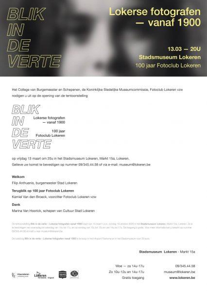 Fototentoonstelling: Blik in de verte - Lokerse fotografen vanaf 1900 --> (gedeeltelijke) ANNULATIE @ Stadsmuseum Lokeren | Lokeren | Vlaanderen | België