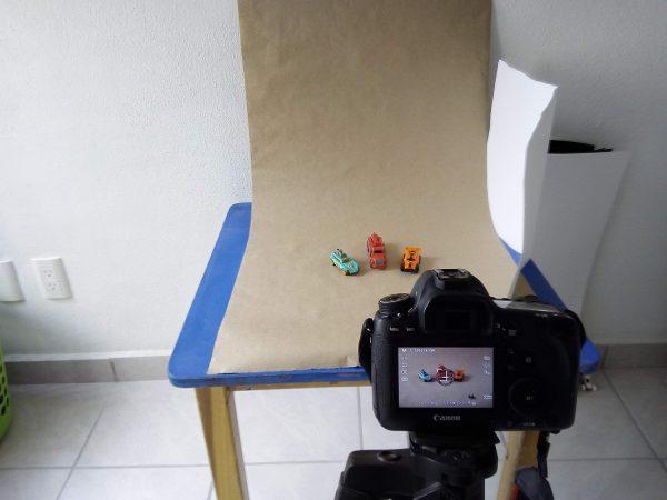 DPS Basic tabletop photography setup