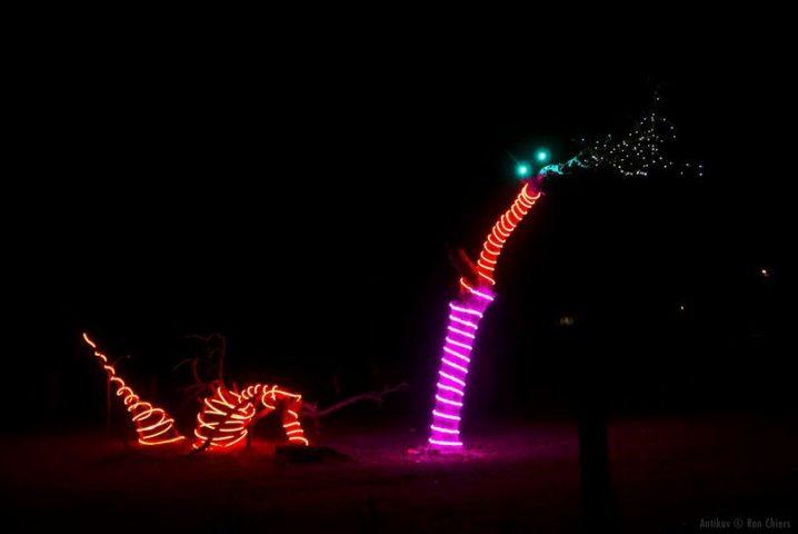 VaART LichtRoute Zomergem © Deelnemend kunstwerk