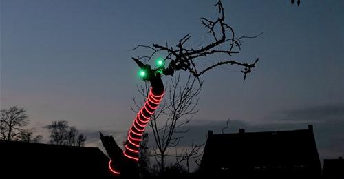 (Verlichte) Kunst te Zomergem - VaART LichtRoute @ Omgeving Schipdonkkanaal Zomergem | Lievegem | Vlaanderen | België