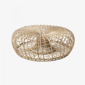 Cane-Line Nest fodskammel, stor, dia. 130