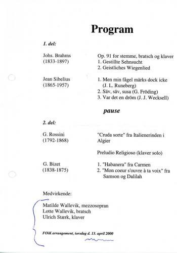 2000-04-13 - Lotte Wallvik