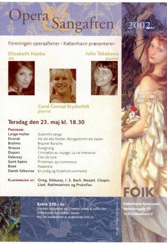 2002-05-23 - Elisabeth Hanke-Julia Tabakova-Carol Conrad