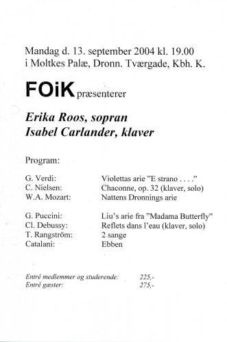 2004-09-13 - Erika Roos-Isabel Carlander