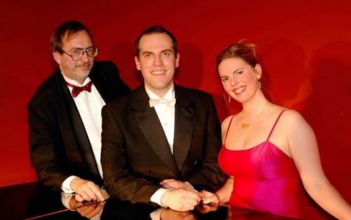 2009 03 11 Signe Lind, sopran og bror Tor Lind, baryton og Tomas Johnsson, pianist