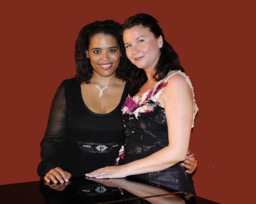 2010-05-20 Tonya Lemoh og Sine Bundgaard