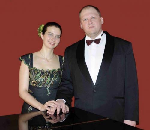 2010 04 12 Den ukrainske bas Taras Shtonda og pianist Anastasiya Titovych