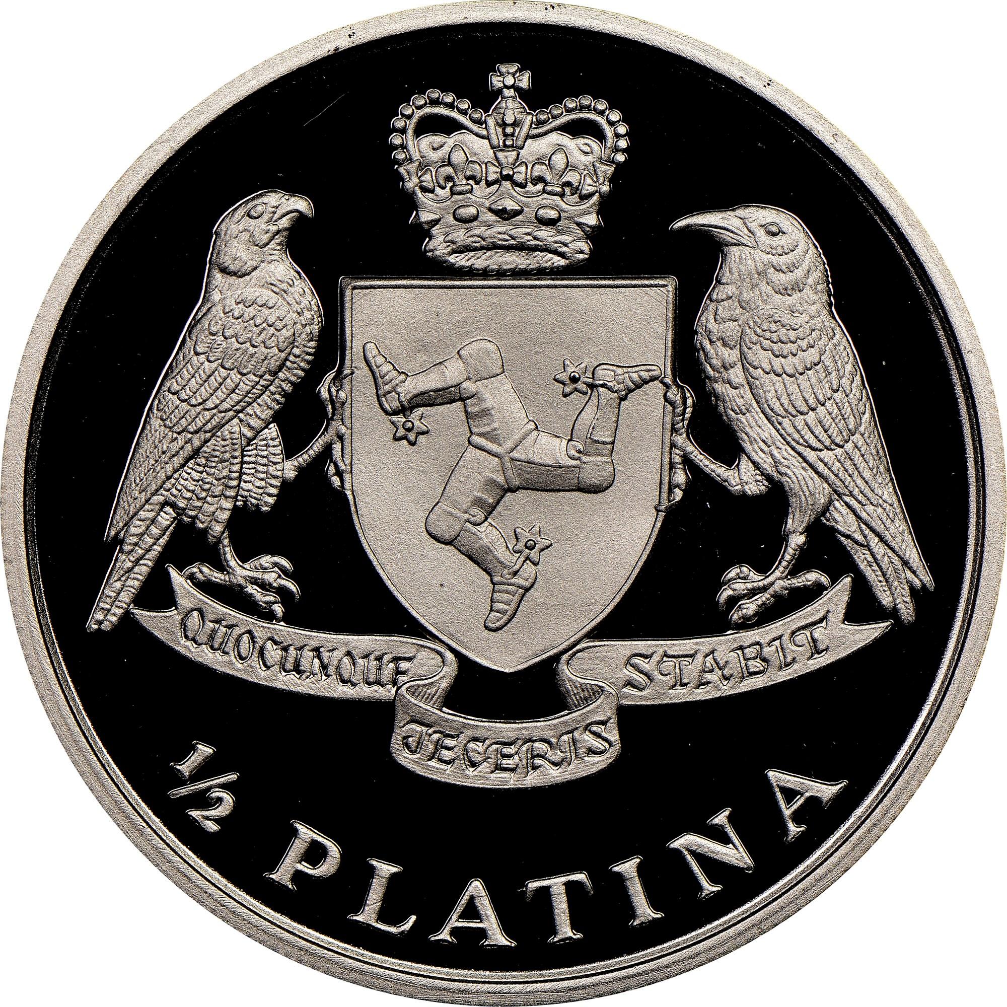 Ett mynt av platina