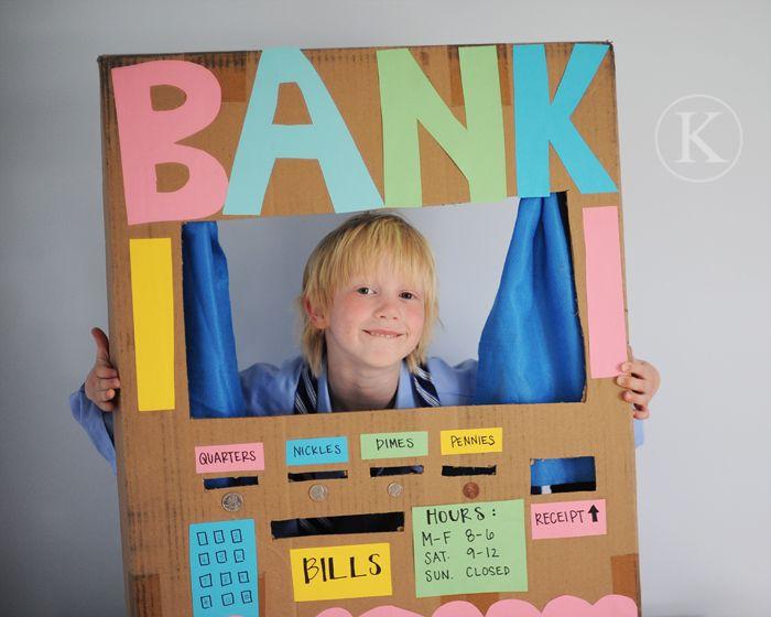 Ett barn som leker bank kan aldrig få slut på pengar