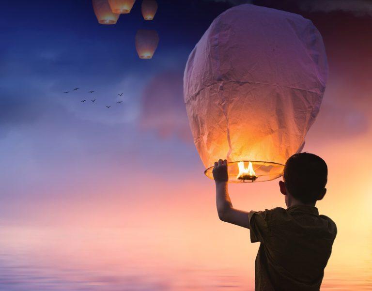Tillväxtmål är som en balong som flyger mot himlen