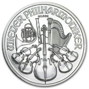 philharmonic silvermynt