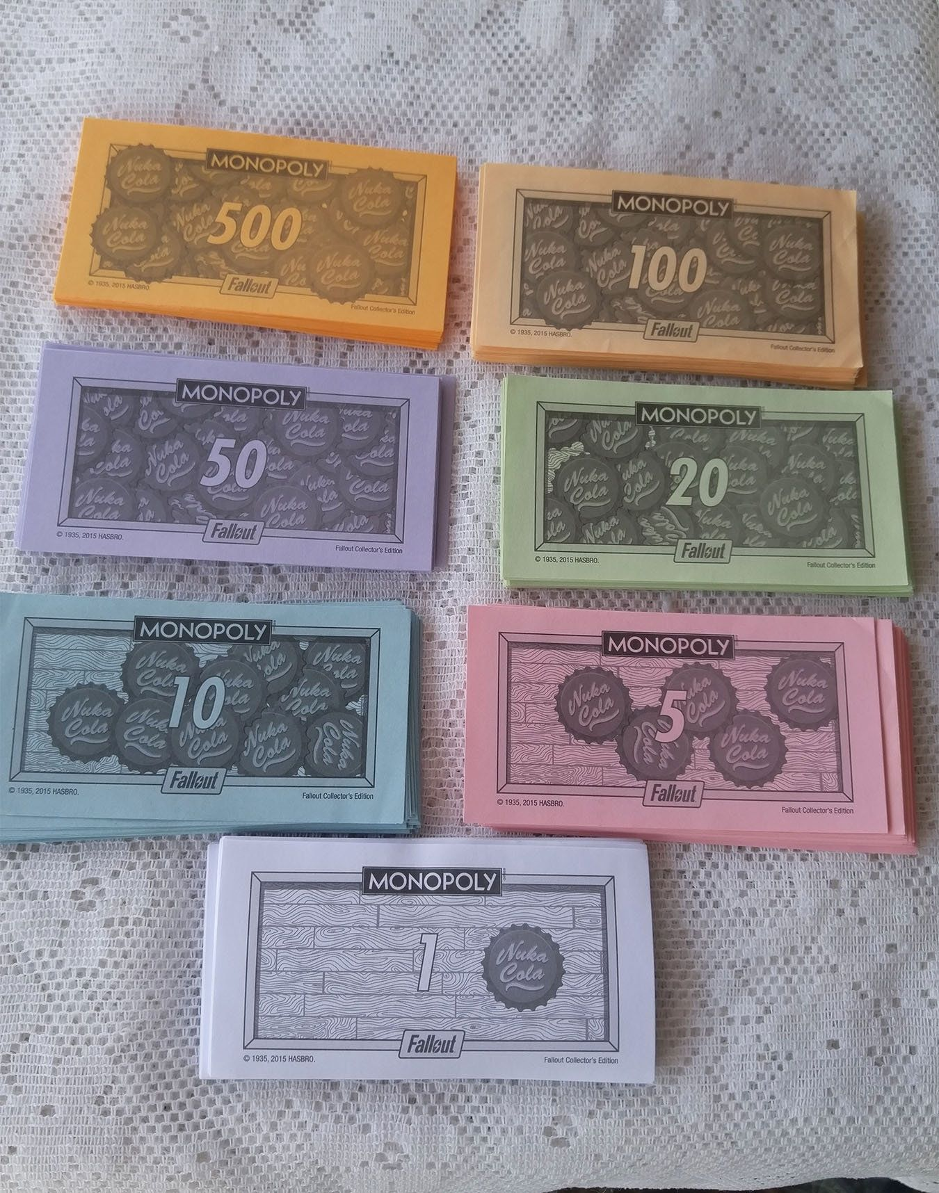 Monopol pengar fiatvaluta