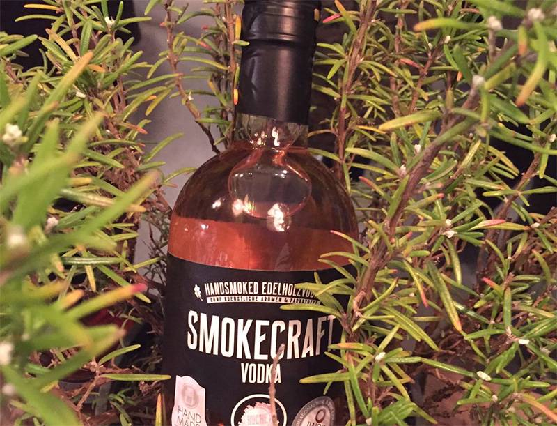 Bild Flasche SMOKECRAFT Vodka Food Fellas