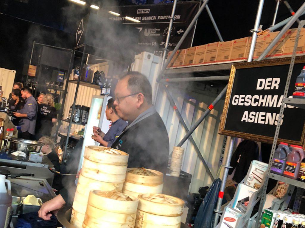 Xiao Wang kocht auf den Chefdays Berlin