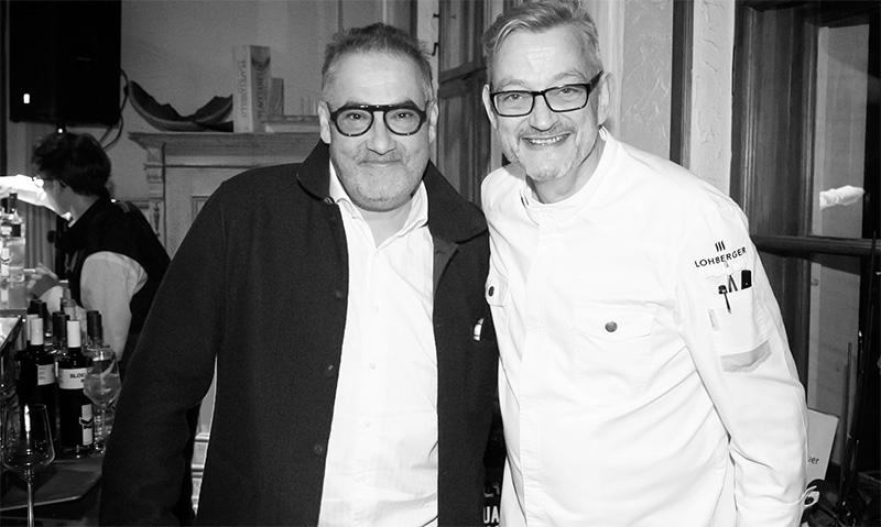 Hans Reisetbauer und Jockl Kaiser Food Fellas