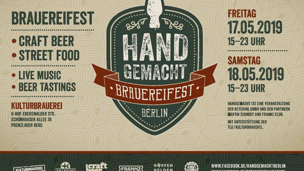 Handgemacht festival Kulturbrauerei Food Fellas Blog