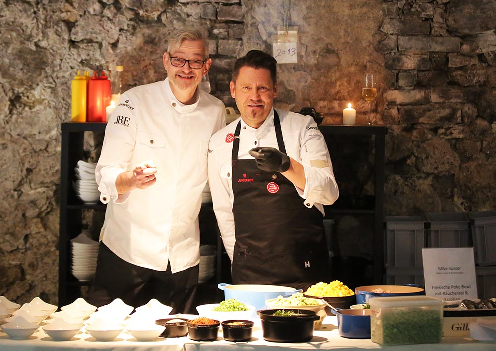 eat to the beat Jockl Kaiser mit Mike Suesser
