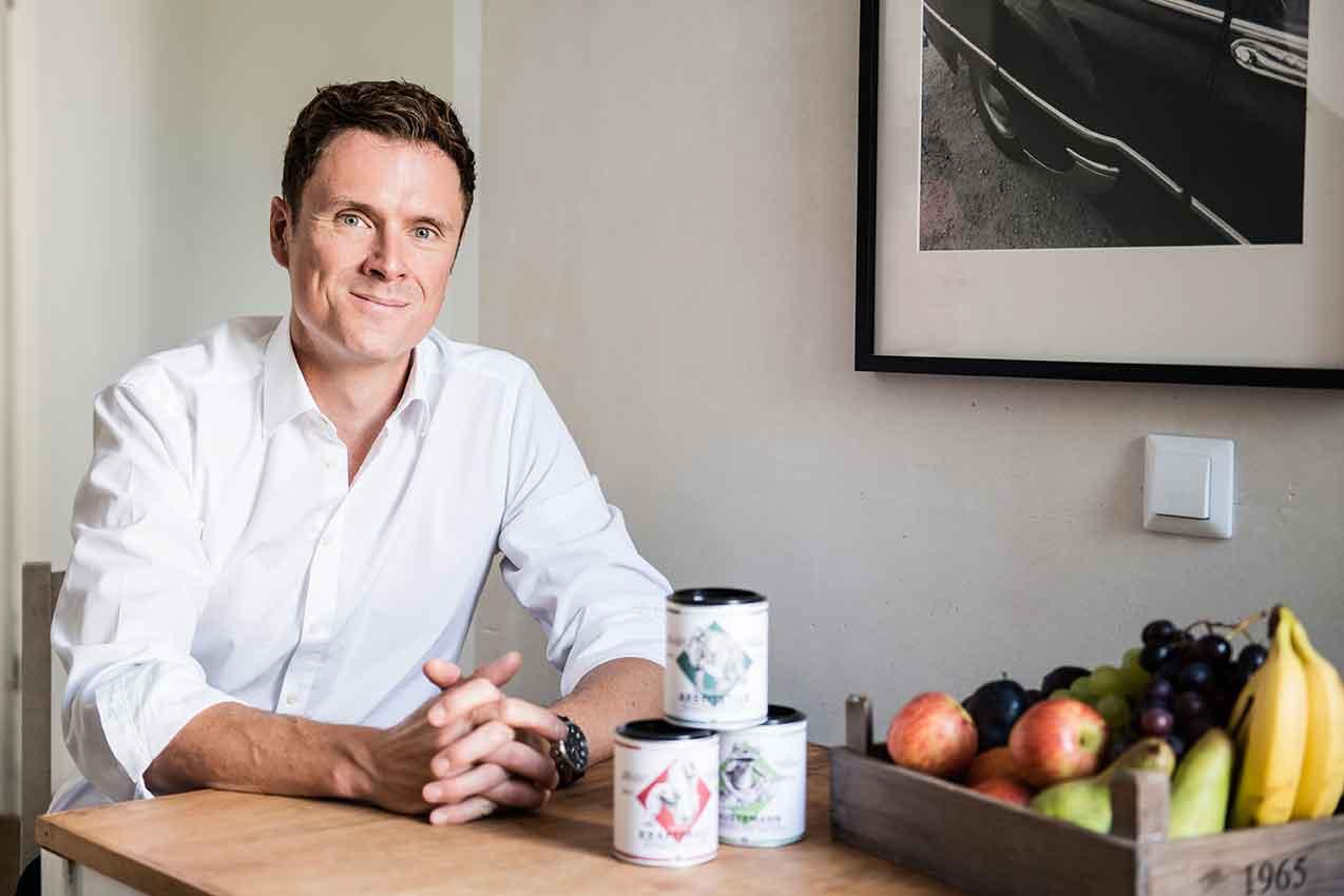 Portrait Berlin Organics Gründer Klaas für Food Fellas Interview