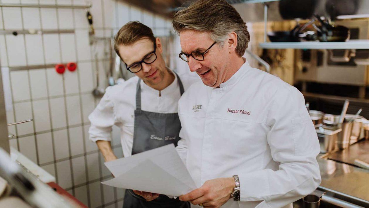 Harald Rüssel und Enrico Back für Food Fellas