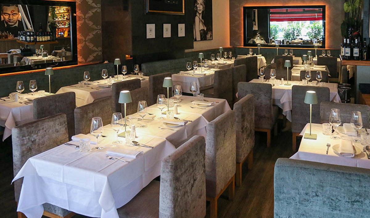 Innenraum Restaurant Belucci Berlin f Food Fellas