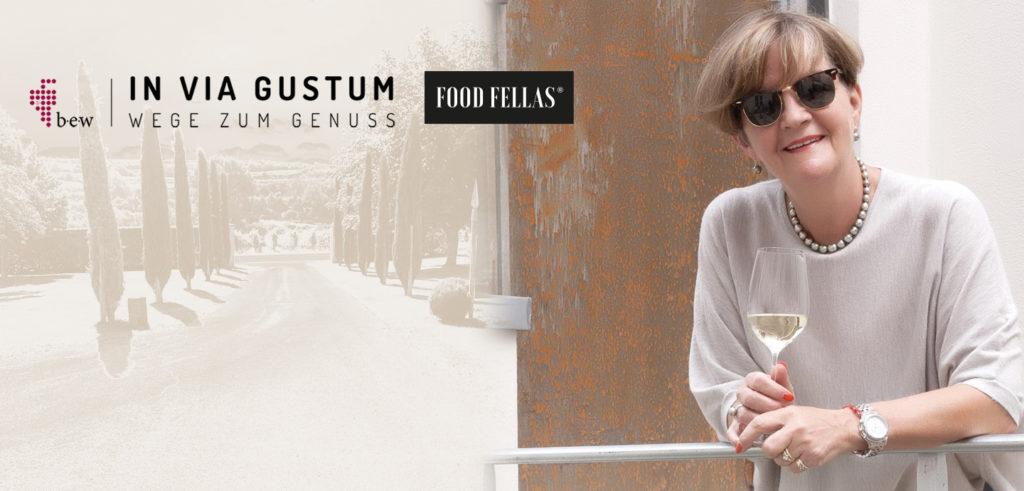 BEate Wimmer, in via gustum, Wege zum Genuss, Interview Food Fellas