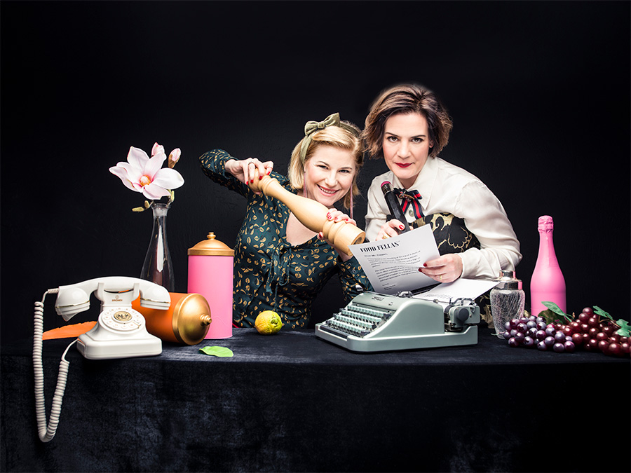 Mia Zmija-Maurice und Franziska Walther würzen das Gastro-Marketing für culinary ladies
