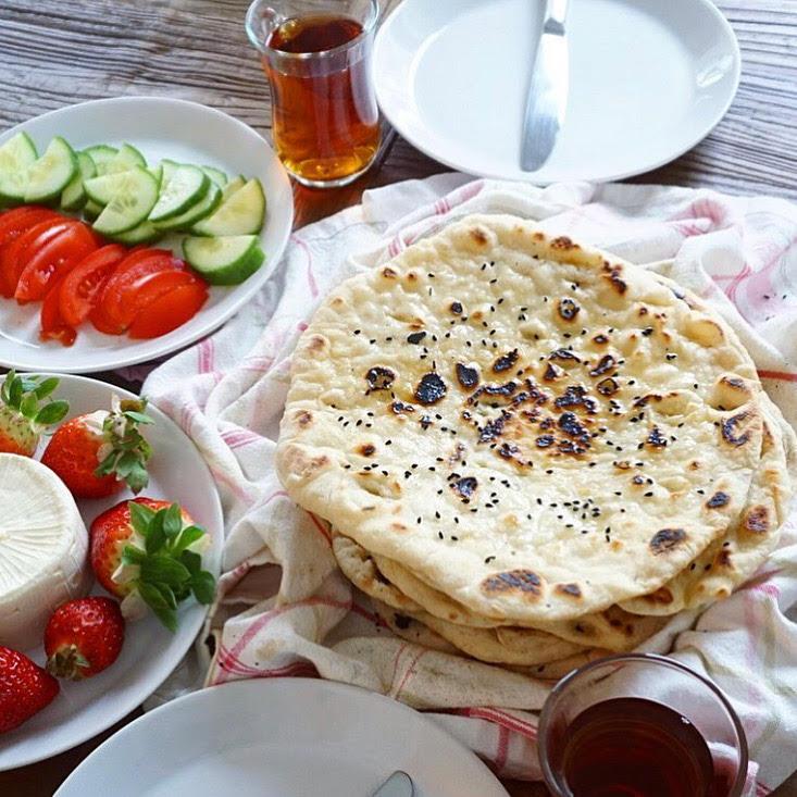 Kurdiskt bröd/Naan