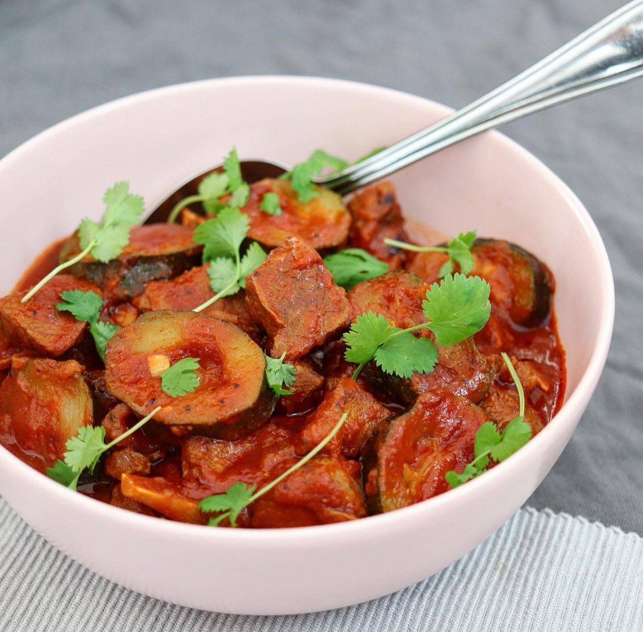 Zucchini gryta med lamm/Khorisht kolaka