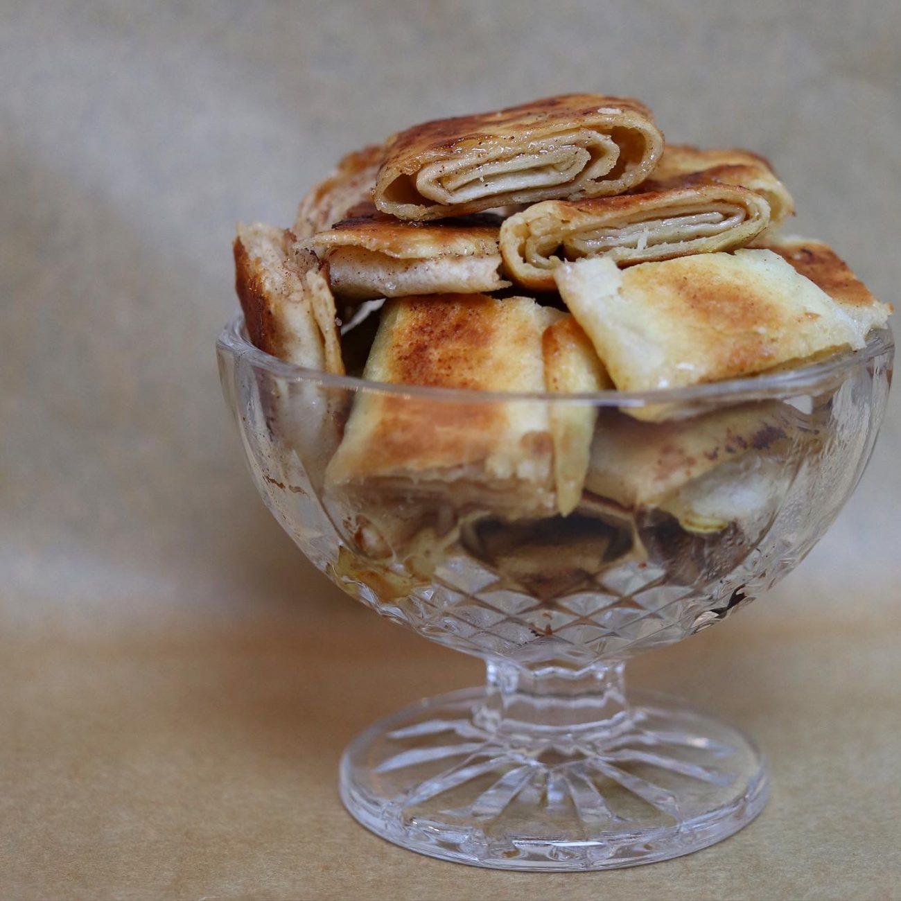 Gifflar på tortillabröd
