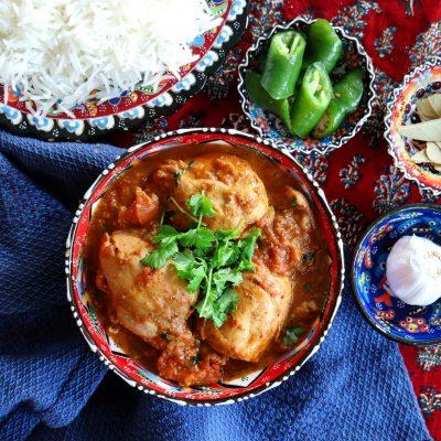 kyckling karahi