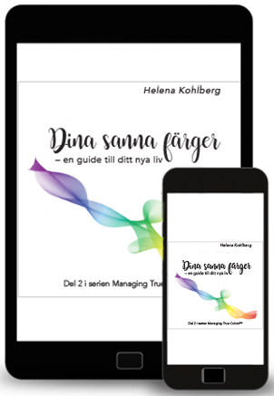 E-boken Dina sanna färger - en guide till ditt nya liv