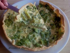 Torta salata broccoli e feta