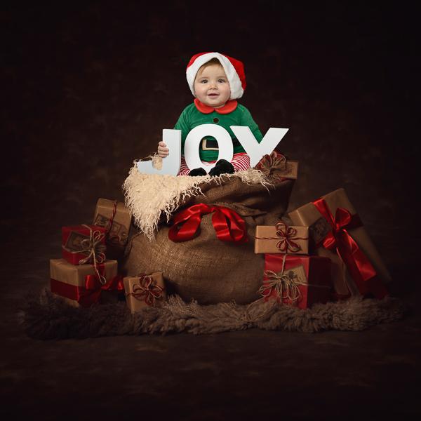 kinderfotografie kerstmis