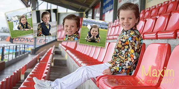 communiefotografie voetbalveld
