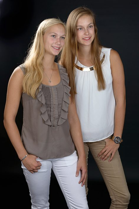 fotoshoot zusjes