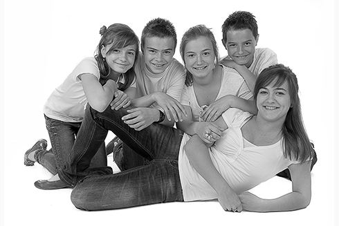 fotografie gezin