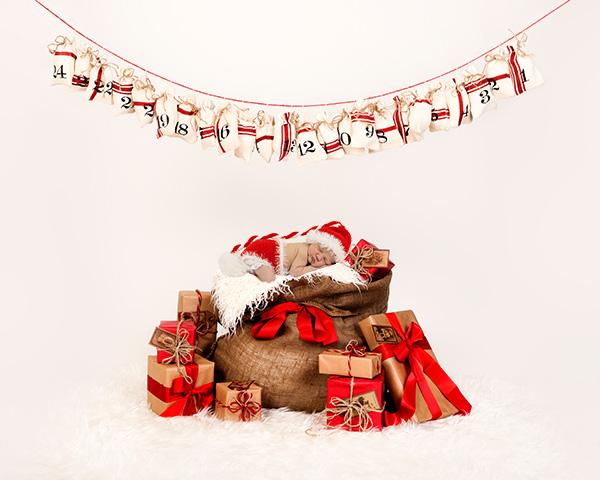 kerstfotografie baby