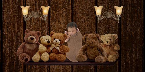 fantasiebewerkingen babyfoto's jongen