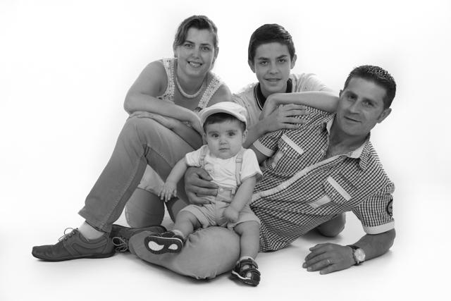 studioreportage gezin
