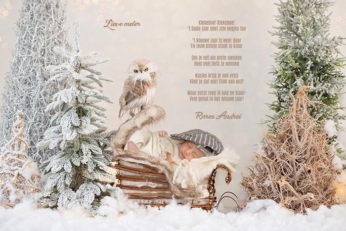 nieuwjaarsbrief baby en peuter