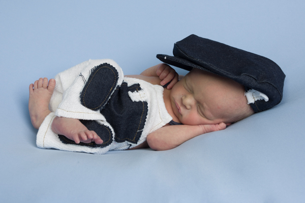 newbornfotografie jongen