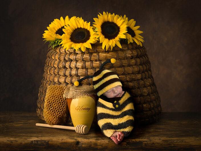 unieke newborn fotografie